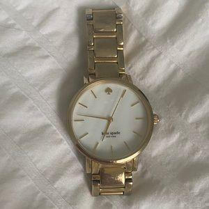 Gold Kate Spade Watch
